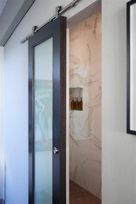 Bathroom Glass Barn Door Photo Page Hgtv