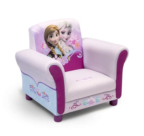 delta children frozen upholstered chair baby toddler