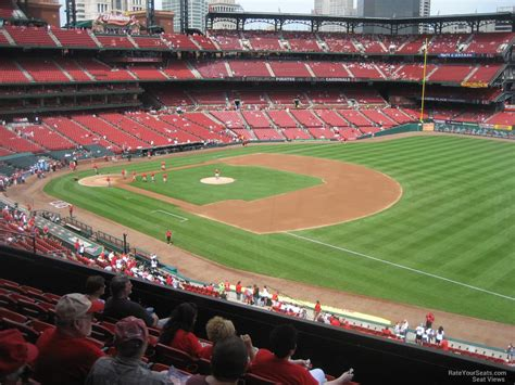 section 235 busch stadium busch stadium section 237 rateyourseats com
