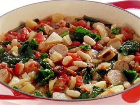 Ina Garten Chicken Stew Cannellini Bean And Sausage Stew Recipe Giada De