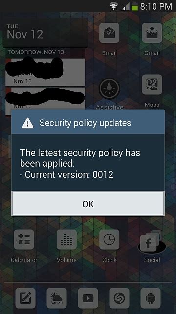 android security policy updates security policy updates android forums at androidcentral