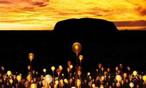 Field Of Light by Field Of Light Uluru To Debut At Ayers Rock Resort On 1