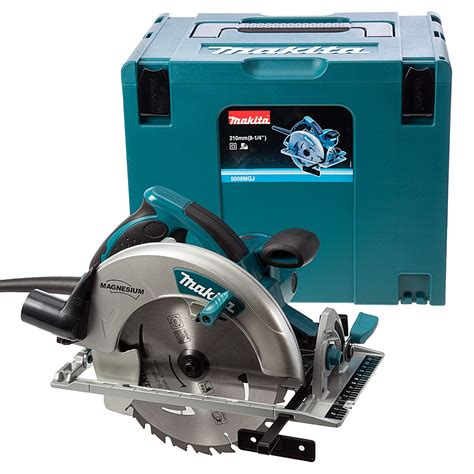 Makita Circular Saw 5008 B makita 5008mgj 210mm circular saw in makpac carry
