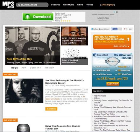 free music and video download sites best free and legal music download sites digital trends