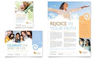 christian church flyer amp ad template word amp publisher