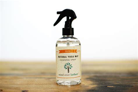 mat spray mind lather yuzu mat cleaning spray