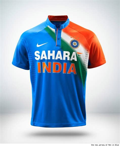 design jersey india indian cricket jersey design