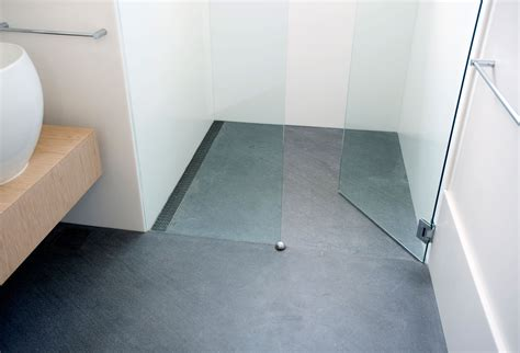 No Barrier Shower Pan by Barrier Free 187 Infinity Drain