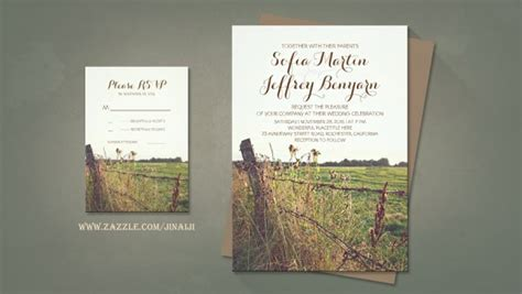 Farm Theme Wedding Invitations by Rustic Wedding Wedding And Invitations