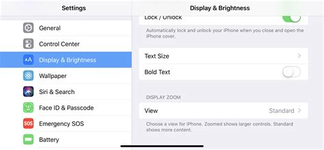 iphone xs max includes display zoom accessibility feature unlike iphone x and xs 9to5mac