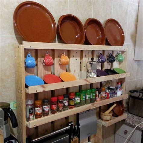 kitchen rack ideas pallet kitchen shelf ideas pallet idea