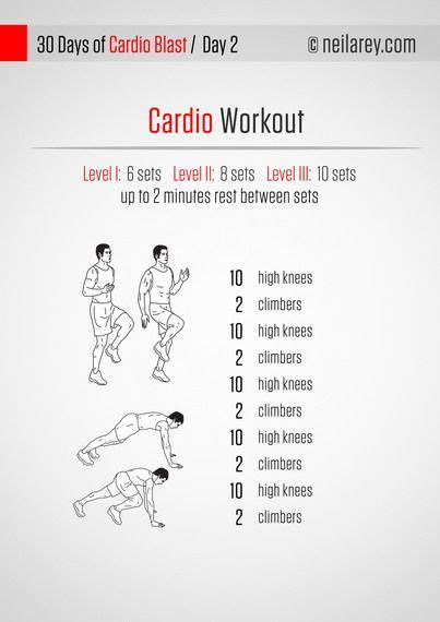 a cardio routine you can do anywhere no running