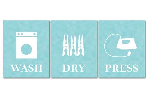 Etsy Laundry Room Decor A Personal Favorite From My Etsy Shop Https Www Etsy Listing 121574719 Wash Press