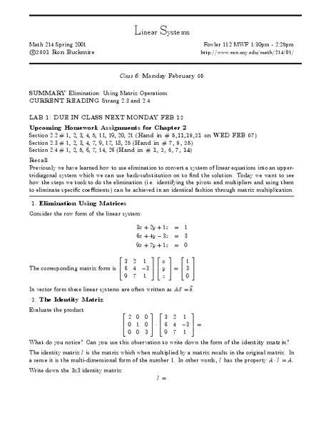 Matrix Operations Worksheet by Matrix Operations Worksheet Fioradesignstudio
