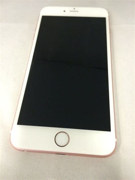 apple iphone 6s plus 128gb gold at t excellent warranty 888462501375 ebay
