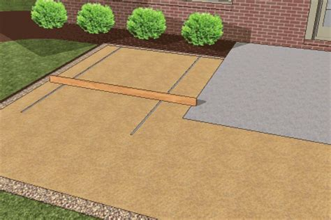 Adding Pavers To Concrete Patio How To Install Larger Paver Patio Smaller Existing Concrete Patio Mypatiodesign
