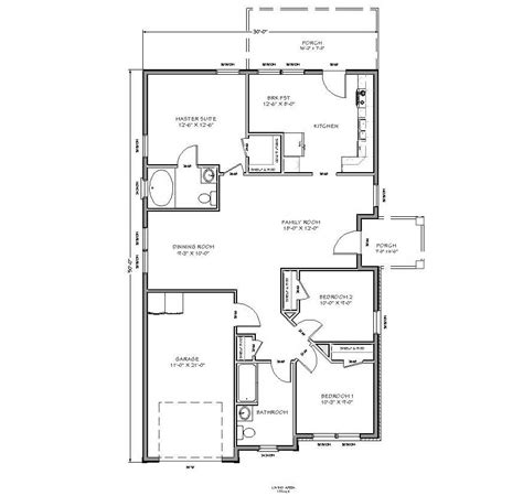 small home designs floor plans with 3 bedroom home