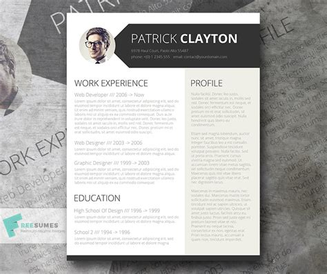 cv template for architects 30 best free resume templates for architects arch2o