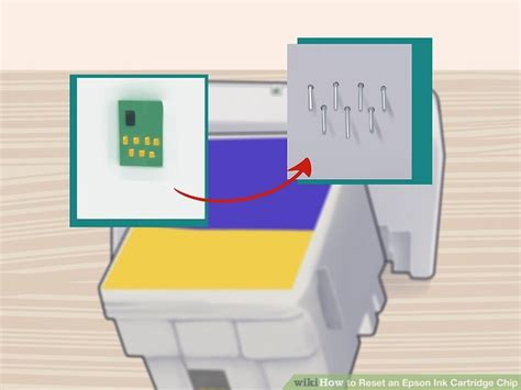 reset epson printer cartridge how to reset an epson ink cartridge chip 15 steps with