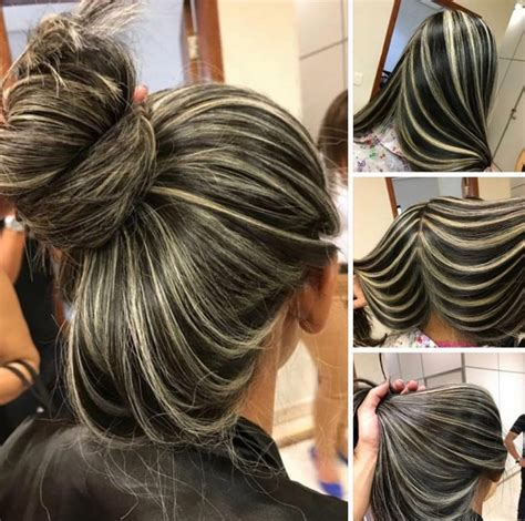 chunky piecy hair stes chunky highlights are back and better than ever beauty