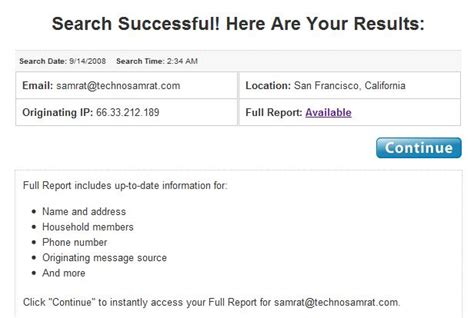 Email Search Find The Real Owner Of A Mail Address With Email Search Technosamrat