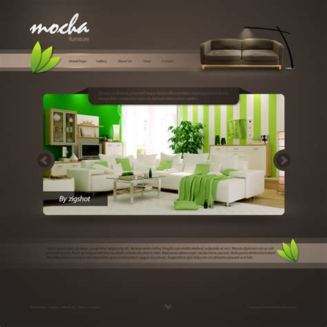 Best Furniture Websites by Top 10 Creative Website Interface Images Frompo