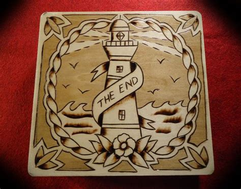 tattoo flash on wood 42 best images about light house tattoos on pinterest