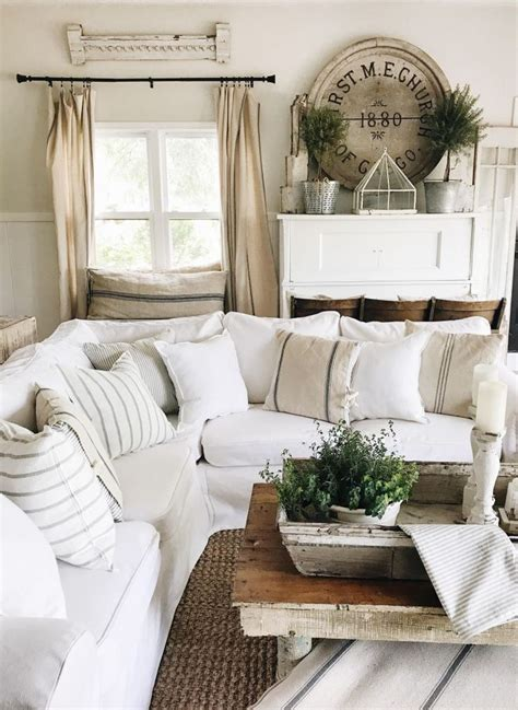 how to style your living room best 25 farmhouse living rooms ideas on pinterest