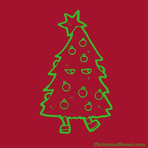 how to make a string christmas tree christmas mosaic