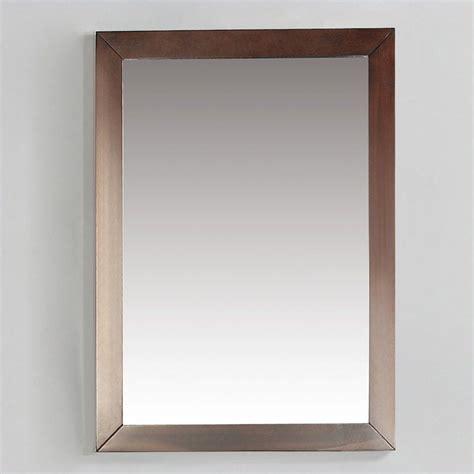 brown bathroom mirror bath vanity mirror in dark walnut brown nl davenport m 3a