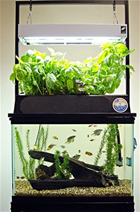 ecolife eco cycle aquaponics indoor garden system  led