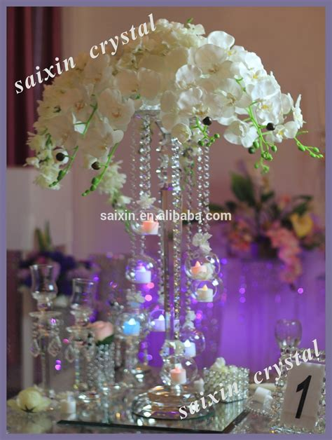 hanging crystals for wedding centerpieces new design wedding centerpiece hanging votive
