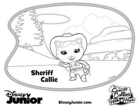 free coloring pages of sherif callies