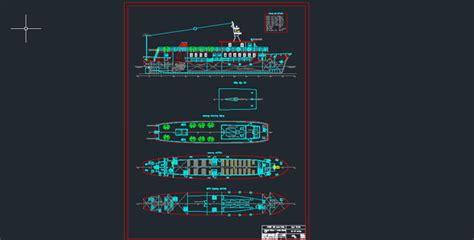 ship dwg ship design free dwg passenger ship arrangement