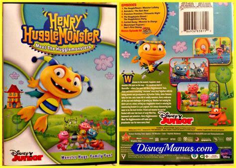 Dvd Copy Ori All About Junior Disney Mamas Hey Hey Hey It S A Henry Hugglemonster