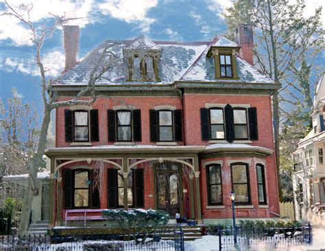 color house nyc brick victorian paint colors and new shutters victorian