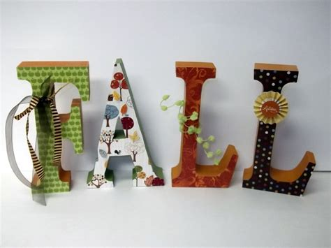 decorative letters for home fall wood letters home decor fall decor harvest decor autumn
