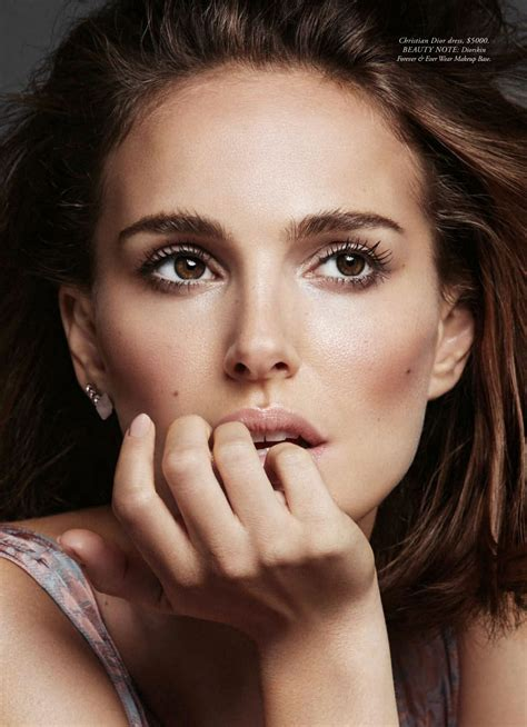 Natalie Portman April Issue Of Magazine by Natalie Portman In S Bazaar Magazine Australia