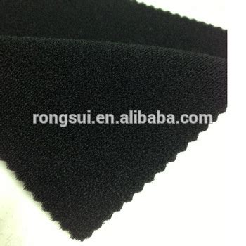Supplier Rs Waist Belt laminated hook loop fabric with neoprene sheet and