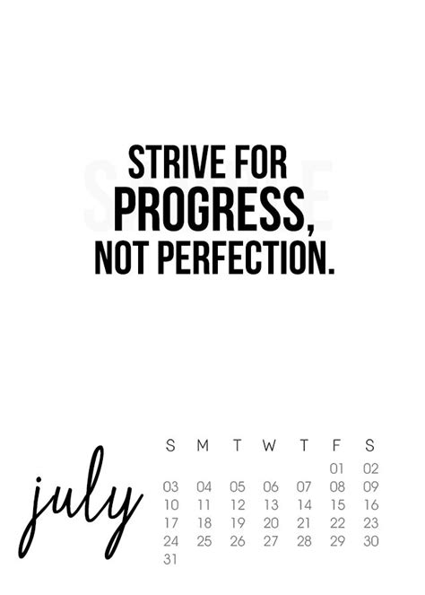 printable quote calendar 2016 july 2016 calendar live laugh rowe