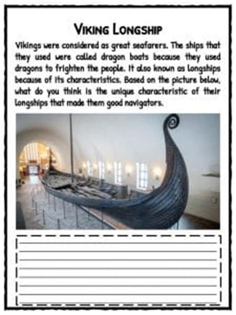 viking boats ks2 facts viking facts information worksheets for kids teaching