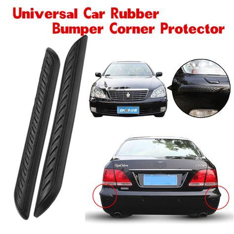 car rubber st 2pcs car rubber bumper corner protector door guard cover