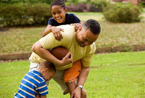 kids playing backyard football slideshow 10 ways to entertain and energize without