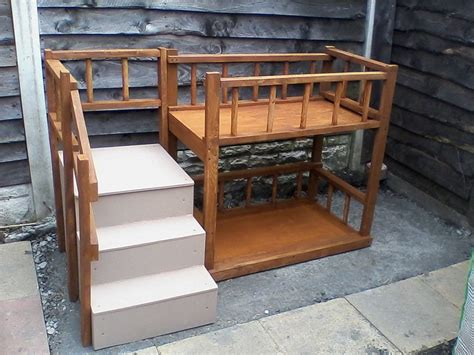 builder for dogs bed with stairs for dogs building a loft bed with stairs beds and costumes