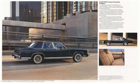 electric and cars manual 1984 ford ltd crown victoria electronic valve timing 1984 ford ltd crown victoria brochure