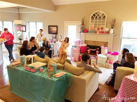 At Home Baby Shower Ideas by Pink Elephant Baby Shower Aspen