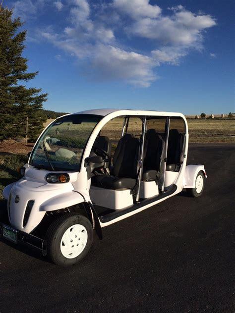 gem   passenger electric golf cart great