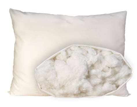 organic bed pillows omi 100 certified organic cotton pillow sleep organics