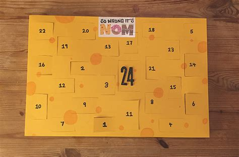 how to make your own advent calendar how to make your own cheese advent calendar for
