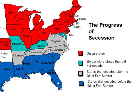 The secession acts of the 13 confederate states
